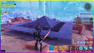 MY BASE IN MORNE LA VALLÉE FORTNITE SAUVER THE WORLD
