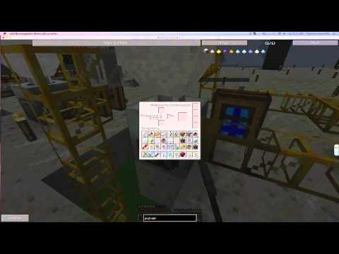 Scullcraft FTB Episode S:3 E:5 Automated Iron, Gold, Sulfer, Coal, Rudydust, and Silicon Factory