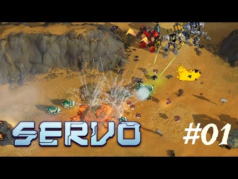Let's Play - Servo– Episode 01 [Robits and Pirates]: