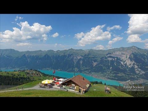 4K Hilten, Axalp Brienz  Berner Oberland SWITZERLAND アルプス山脈