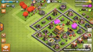 UN DIA NORMAL EN CLASH OF CLANS!!!!!!