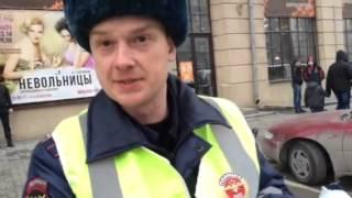 Беспредел на дорогах г. Новосибирска