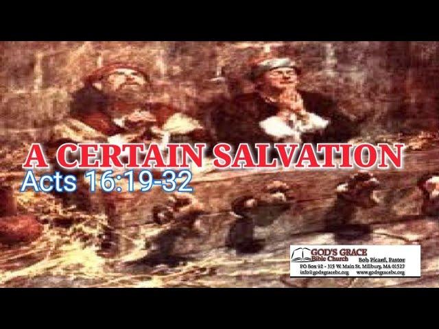 A Certain Salvation