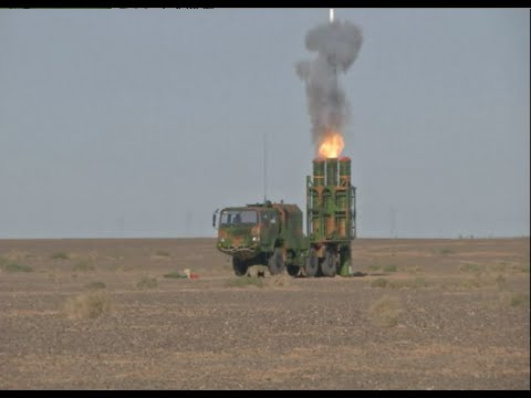 Air Defense Brigade Passes Test of Using New Air-Defense Missiles in Northwest China