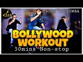 Bollywood Workout // Non-stop 30 mins // Dance fitness// High On Zumba