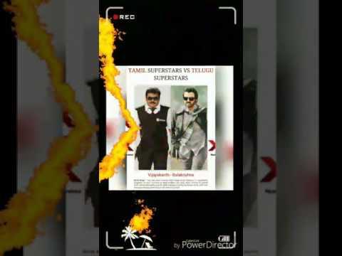 Tamil Vs Telugu Superstars! different tamil film and telugu film