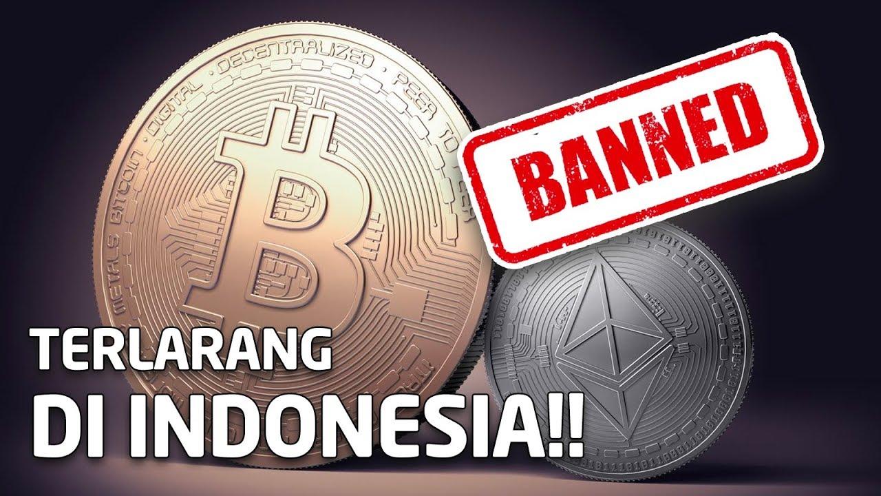 bitcoin indonesia larangan