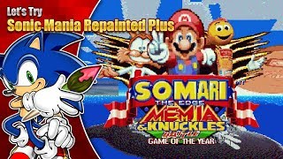 THIS IS MEME-TASTIC! Let's Try Sonic Mania Repainted Plus