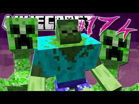 Minecraft | THREE MUTANT CREATURES!! | Diamond Dimensions Modded Survival #174