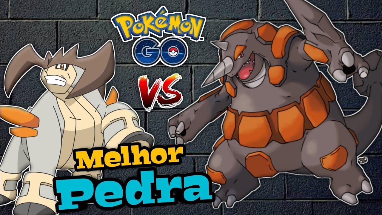 Rhyperior após dia da comunidade, o novo monstros de pedra vs Terrakion - Pokemon Go