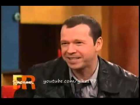 Donnie Wahlberg talking about his sons