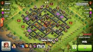 BM079 Balloons and Minions Strategy against champion level opponent Clash of Clans CoC