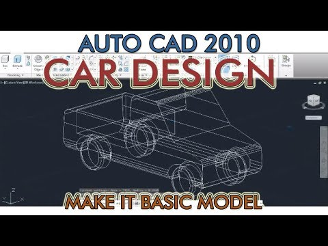 Car Design with auto cad