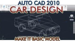 Car Design with auto cad