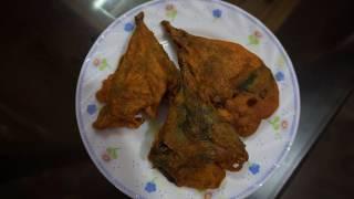 how to cook kumro patar pakura || easy tasteful pakora  recipe