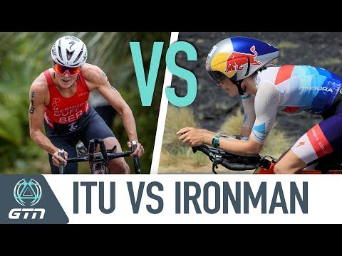 Ironman vs ITU Triathlons | How Do The Athletes Compare?