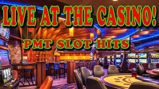 🔴 LIVE AT THE CASINO w/ PMT SLOT HITS AND STUFF
