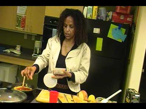 Global Cuisine: Cooking Ethiopian style pizza