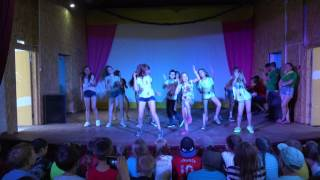 Танец под песню Море - Юлиана Караулова. Танцует 4 отряд 2 смена