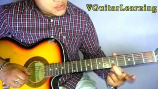 Jab Koi Baat Bigad Jaye Lead Guitar Lesson | Kumar Sanu Song Tutorial | VGuitarLearning
