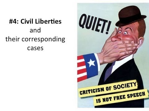 Chapter 4- Civil Liberties