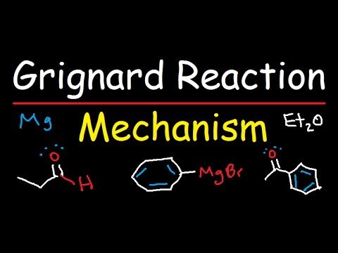Grignard Reagent Synthesis Reaction Mechanism - Organic Chemistry