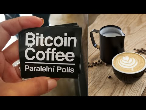 Bitcoin Coffee in Prague - We learn how to use Bitcoin in the Cryptocurrency Coffee Shop