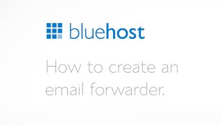 How to create an email forwarder.