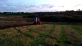 Ursus C-385 ploughing