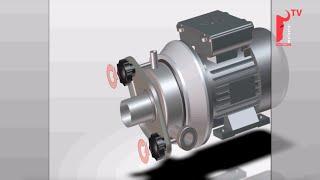 Milk Transfer Pump for Milking Parlour - Melasty®