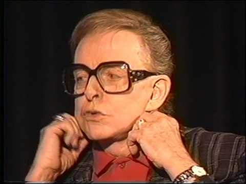 Charles Pierce--1992 TV Interview, Joan Crawford, Tallulah Bankhead, Joan Collins