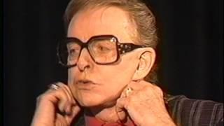 Charles Pierce--1992 TV Interview, Joan Crawford, Tallulah Bankhead, Joan Collins