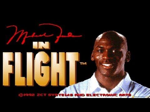 Michael Jordan in Flight gameplay (PC Game, 1993)