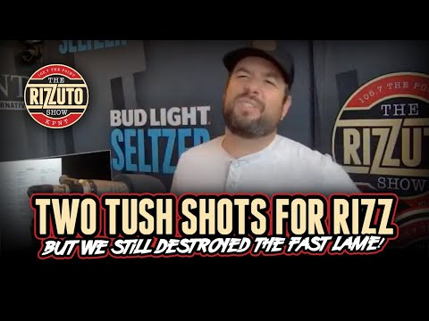 Rizz takes 2 TUSH SHOTS and the FAST LANE are LOSERS again! [Rizzuto Show]