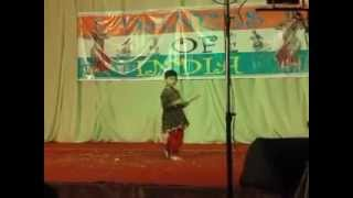 Ayush Annual function dance Gujarati Dandiya