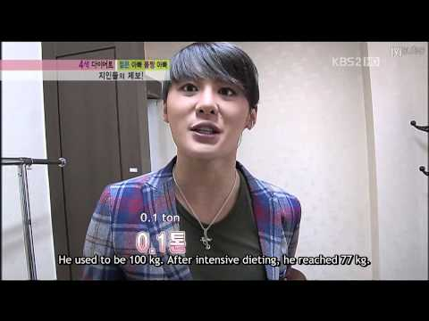 [110216] Junsu on KßS Living Show with English subs