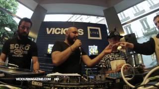 Cuartero y Georgeous b2b Souldate - Vicious Live @ www.viciouslive.com