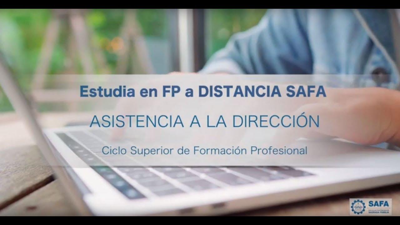 Estudia Asistencia A La Dirección A Distancia Fp A