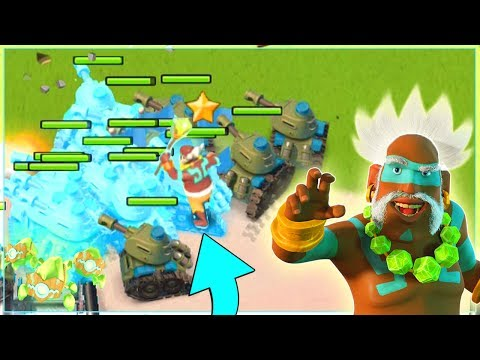 Using CRYSTAL CRITTERS with All Tanks!! Boom Beach Dr. Kavan Strategy (Dr. T Gameplay)