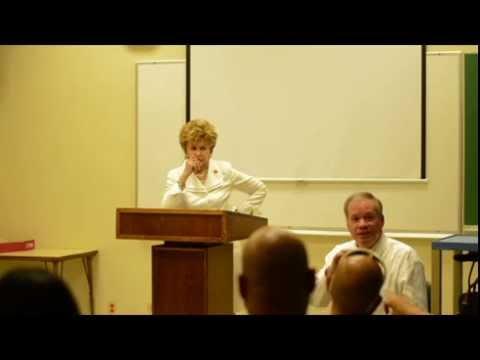 Congresswoman Madeleine Bordallo at UOG (Part 2)
