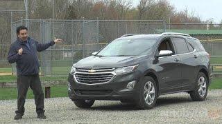 2018 Chevrolet Equinox Premier Test Drive Video Review