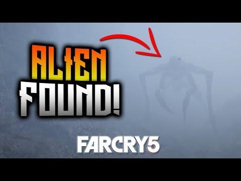 FAR CRY 5 - Full Alien FOUND! Lost On Mars DLC