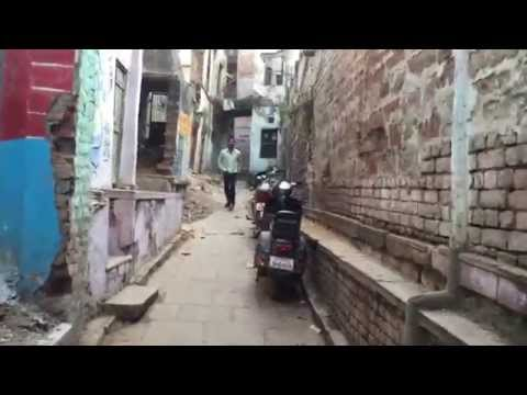 Varanasi Alleyways ( walking from the main streets to the Ganges Feb 2015 )