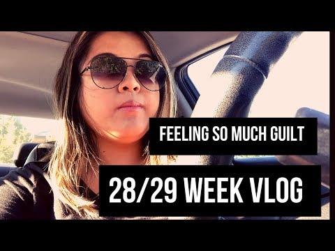 FEELING SO MUCH GUILT, BABY SHOWER PREP \ 28 & 29 WEEKS VLOG thumbnail