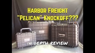 Harbor Freight Apache Case Review - Pelican Case vs Apache Cas…