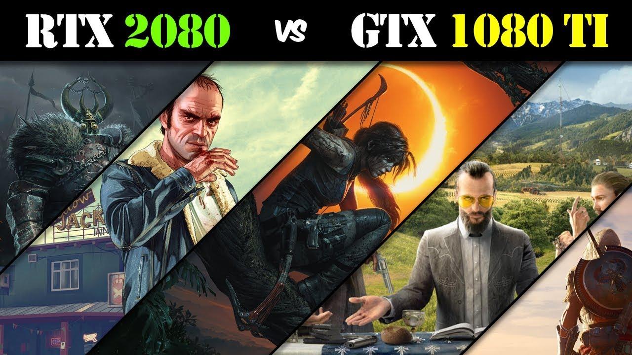 RTX 2080 vs GTX 1080 Ti Gaming Benchmarks – Tech vs Tech