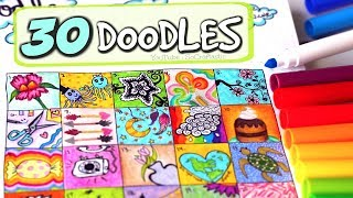 Video 30 DAY DOODLE CHALLENGE - Bullet Journal Doodles | SoCraftastic download MP3, 3GP, MP4, WEBM, AVI, FLV Juli 2018