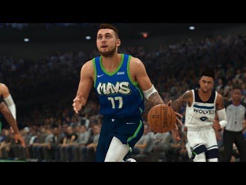 Mavericks Vs Timberwolves Full Game Highlights | NBA Feb 24, 2020 | Dallas Vs MInnesota (NBA 2K)