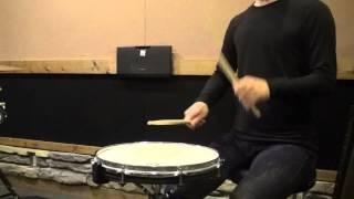 フラム 【ドラム・パーカッションの基礎練習メニュー】 thumbnail