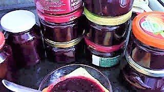 Вишневый джем ./Джем на зиму ./ Вишневый джем без косточек ./Как приготовить вишневый джем.